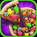 Candy Dessert Pizza Maker Free icon