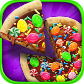 Candy Dessert Pizza Maker - Kids Food Cooking Game