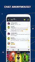 screenshot of Anonymous Chat Rooms - Galaxy