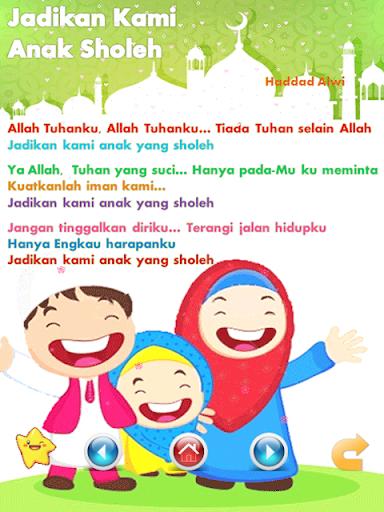 Lagu Anak Muslim & Sholawat Nabi  screenshots 8