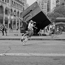 Photo: skateboarders Astor Place/Cooper Union, NYC #streetphotography #newyorkcityphotography