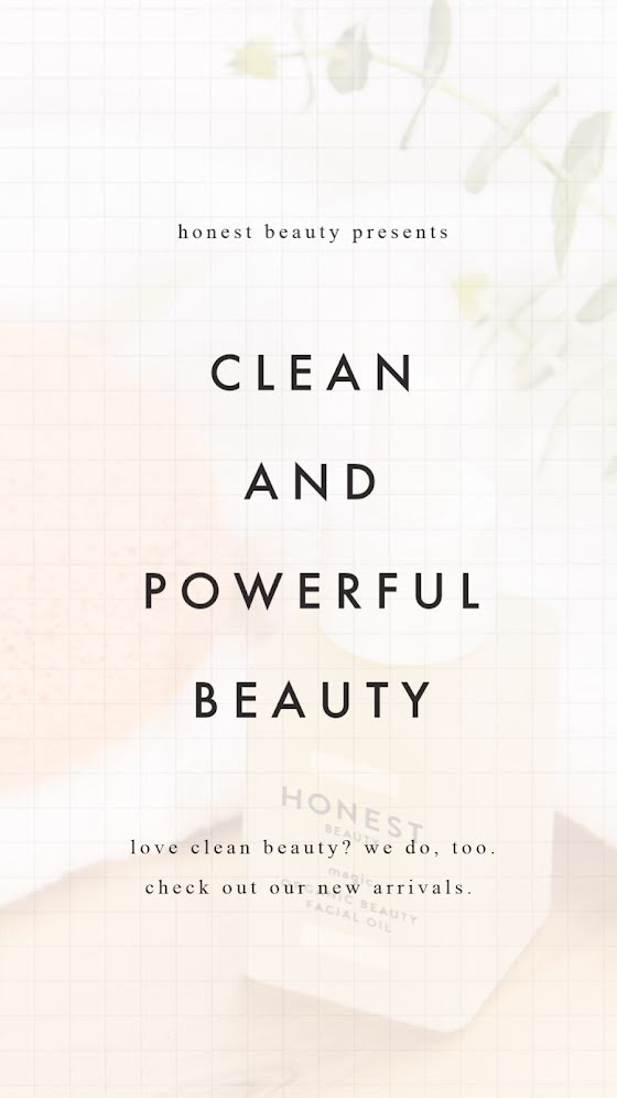 Clean & Powerful Beauty - Facebook Story Template