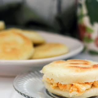 Arepa Breakfast Sandwich Recipe #PANFan