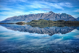Photo: Video from the making-of this photo —I made this video a few days ago — a bit more behind-the-scenes now up on the blog at http://www.stuckincustoms.com/2014/05/13/from-queenstown-to-glenorchy/