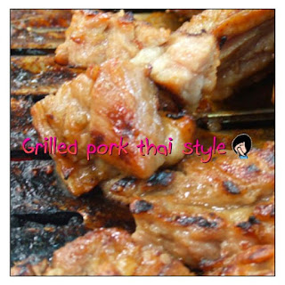 Grilled Pork Thai Style
