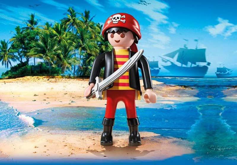 Contenido real de Playmobil® 9265 Pirata XXL