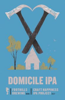 Logo of Foothills Craft Happiness Project: Domicile IPA