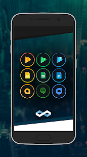 Infinite Dark Icons - Nova/GO- screenshot thumbnail