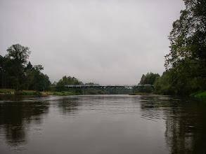 Photo: Bobrowniki, tu skończę to deszczowe pływanie
