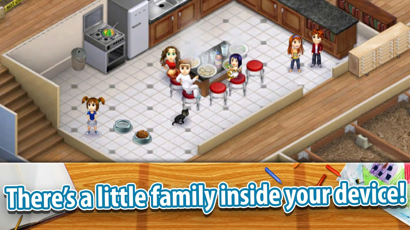 Virtual families 2 android apps on google play for Virtual families 2 decoration