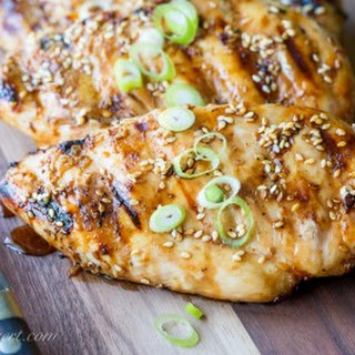 Sesame-Ginger Grilled Chicken
