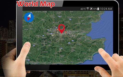 Earth Map Live GPS: Street View Navigation Transit 1.2.9 screenshots 9