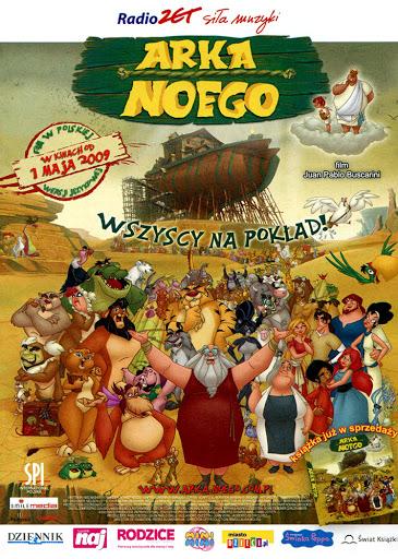 Przód ulotki filmu 'Arka Noego'