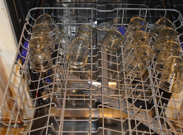 Sterilizing your jars and rings, there are many ways to do this, here is...