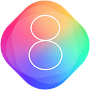 Theme for New iPhone 8: stylish ios 10 Wallpapers APK icon