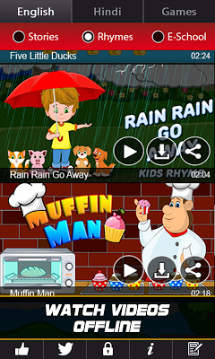 Rhymes Story Store - screenshot