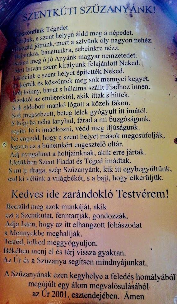 Magyarpolány - Keresztút a Szentkúthoz