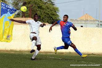 Photo: Alhassan 'Crespo' Kamara (Leone Stars) [vs. Cape Verde, June 2013 (Pic: Darren McKinstry)]