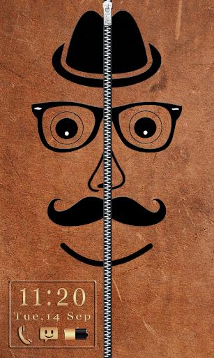 Hipster Zipper Lock