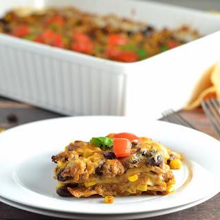 Mexican Casserole With Flour Tortillas Recipes.
