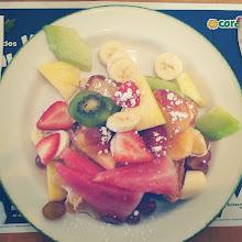 Photo: #desayuno #delicioso #frutas