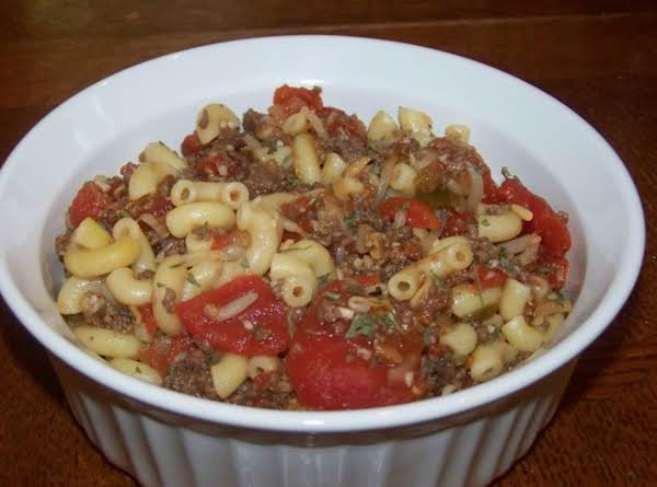 Not My Mother's American Chop Suey Recipe