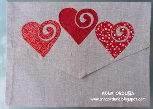 Photo: Aplicaciones en bolsa de lino