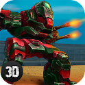 Battle Mech Wars 3D PvP icon