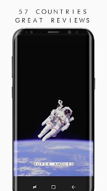 True BLACK AMOLED 4K PRO Wallpapers (2960x1440) screenshot 8