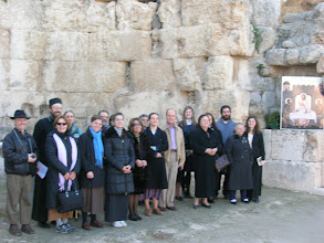 Photo: our group at Emmaus