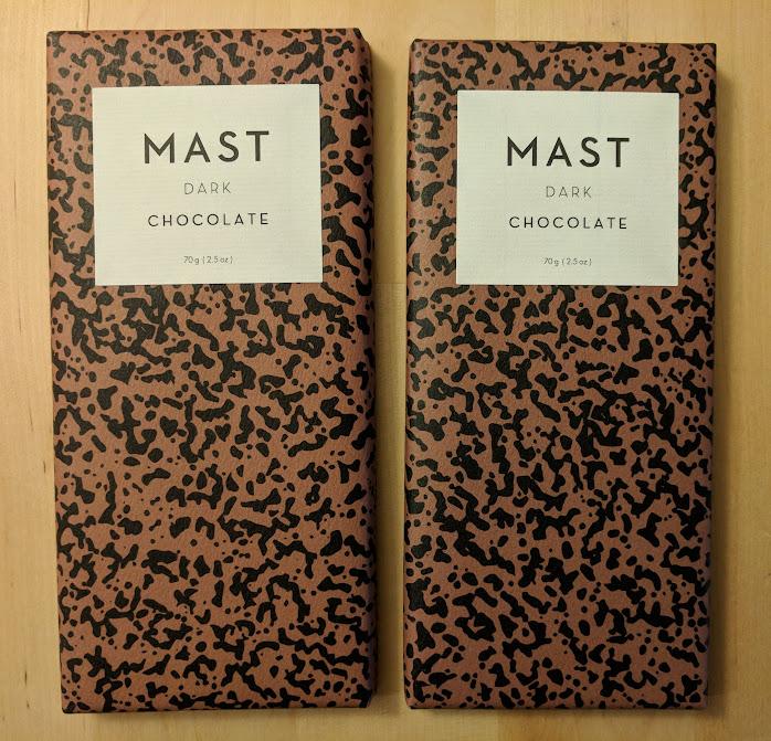 73% Mast Brothers Bar