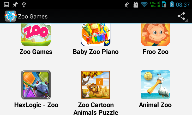 android Top Zoo Games Screenshot 5