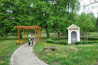 Photo: průjezd zámeckým parkem ve Veselí nad Moravou