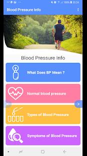 Download Blood Pressure - BP INFO For PC Windows and Mac apk screenshot 3