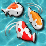 Feed the Koi fish Kids Game Icon