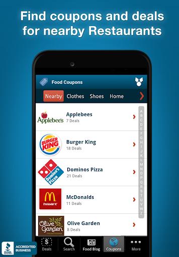 玩免費遊戲APP|下載Fast Food Specials & Coupons app不用錢|硬是要APP