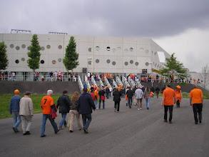 Photo: Op weg naar de Euroborg in Groningen......