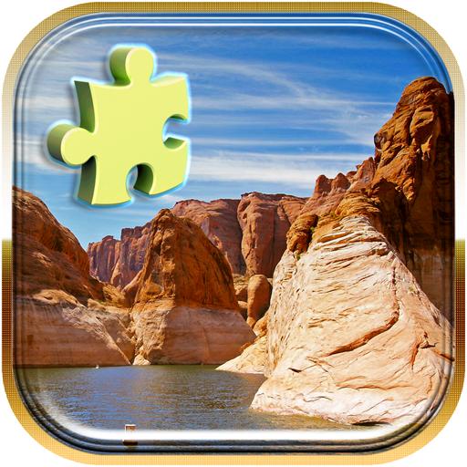 風景ジグソーパズル 解謎 App LOGO-APP試玩