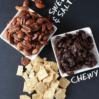 Cinnamon Bun Snack Mix