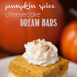 Pumpkin Spice Cheesecake Dream Bars