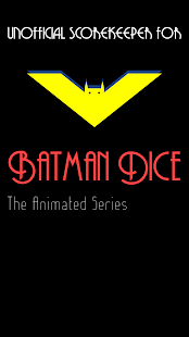 Scorekeeper for Batman Dice - náhled