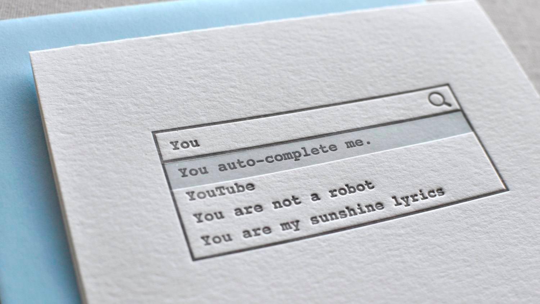 Happy Awkward Valentines Day From Maneesh – Awkward Valentines Card