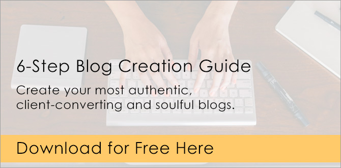 Blog content creation guide