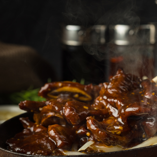 Beef Ribs with Honey Chili