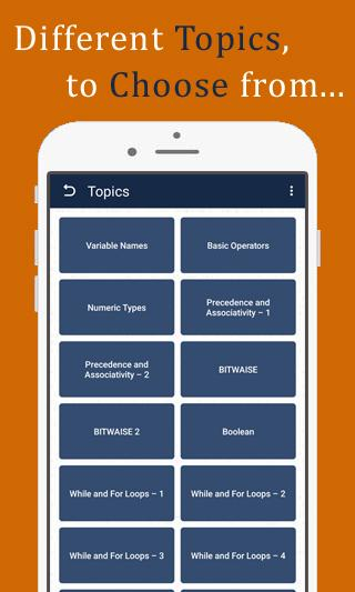 Python Quiz - Python programming quiz app offline – (Android