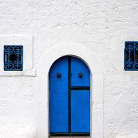 La porta blu di