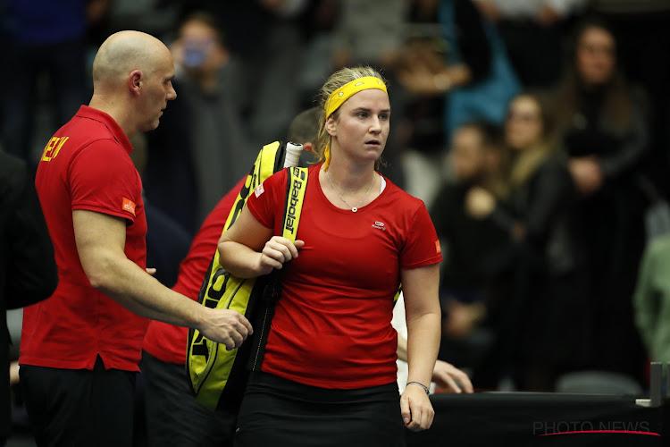 Ysaline Bonaventure dan toch uitgeschakeld op US Open