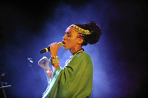 Ayanda Nhlangothi, Nokwe's niece, was a finalist in Idols SA in 2002 and released an album, Music2Me — Umngoma, in 2007. Picture: VICTOR DLAMINI
