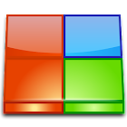 Puzzle colors icon