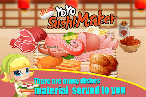 YoYo SuShi Shop-Cooking Sushi